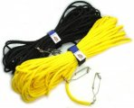 Hollow Braid Floatline with Swivel Snap Clip